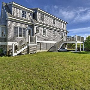 Chatham Home With Views - Across From Private Beach! photos Exterior