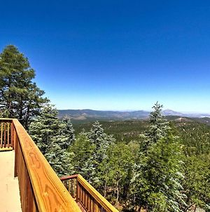 Spacious Cabin With Deck, Mtn Views, Fire Pit And Grill photos Exterior