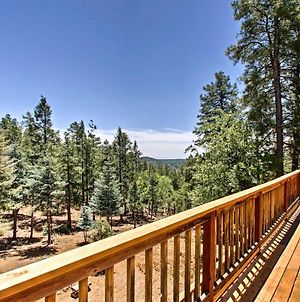Prescott Forest Cabin With Deck, 9 Miles To Downtown! photos Exterior