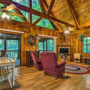Tellico Plains Cabin - 25 Acres, Backyard Creek! photos Exterior