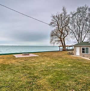 Waterfront Home W/ Shared Dock On Lake St. Clair! photos Exterior