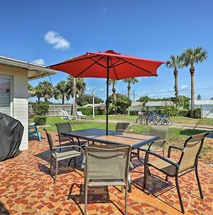 Home With Furnished Lanai - 1 Block To Ormond Beach! photos Exterior