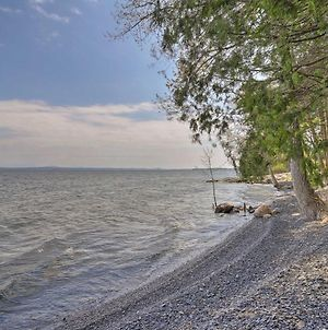 Tranquil Studio With Private Beach On Lake Champlain! photos Exterior