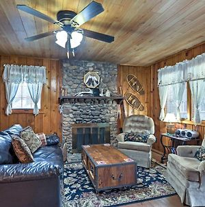 Rustic Riverfront Cabin About 5 Miles To Ruidoso Downs! photos Exterior