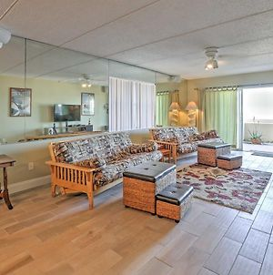 Prime Daytona Beach Condo With Beachfront Patio! photos Exterior