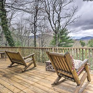 2 5-Acre Lake Toxaway Mountain Cabin With Fire Pit! photos Exterior