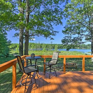 Family Cabin On Burns Lake With Dock And Kayak Rental! photos Exterior