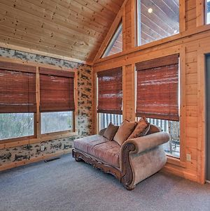 Great Smoky Mtns Rustic Cabin With Views And 2 Decks! photos Exterior