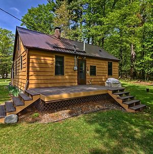 Rustic Cloquet Home With 3-Season Porch & Fire Pit photos Exterior