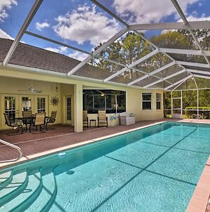 Simplicity Citrus Springs House With Pool And Lanai! photos Exterior