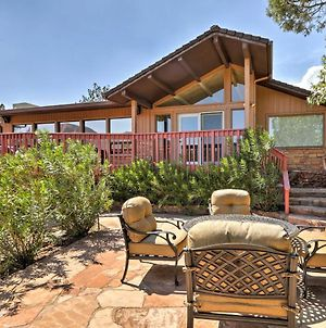 Sedona Home With Stunning Mtn Views, Fire Pit And Deck! photos Exterior