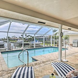Waterfront Marco Island Home With Private Pool And Dock photos Exterior