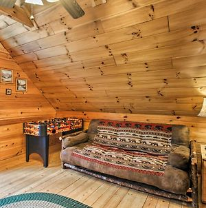 Rustic Pigeon Forge Mtn Cabin With Hot Tub And Views! photos Exterior
