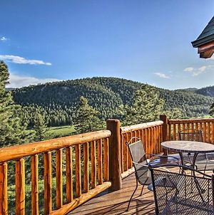 Estes Park Log Home With Hot Tub, Deck And Mtn Views! photos Exterior