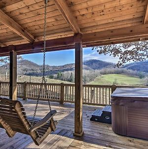 Whits End Smoky Mtn Home With Hot Tub And 300 Views photos Exterior