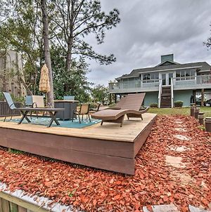 Unique Milton Home With Fire Pit, Dock And Grill! photos Exterior