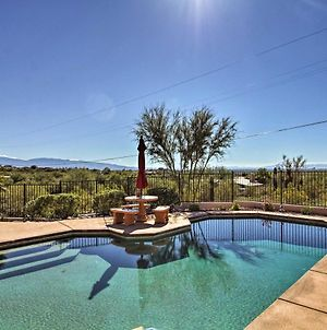 Updated Tucson Home With Panoramic Mtn Views And Pool! photos Exterior