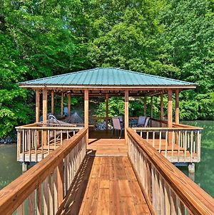 Waterfront Lake Norman Home With Dock & Boat Ramp photos Exterior