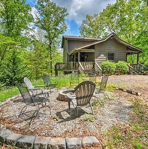 Private Blue Ridge Cabin With Hot Tub, 5 Mi To Town! photos Exterior