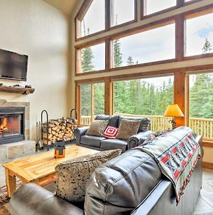 Fairplay Log Cabin With Deck & Incredible Mtn Views! photos Exterior