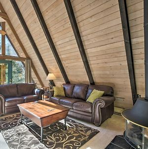 Secluded Ruidoso Cabin With Hot Tub And Fireplace! photos Exterior