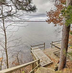Grindstone Lake Waterfront Retreat With Dock & Deck photos Exterior