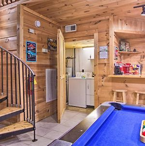 A-Frame Cabin With Hot Tub Less Than 1 Mi To Ober Gatlinburg! photos Exterior
