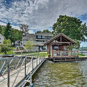 Luxury Lakefront House With Dock In The Ozarks! photos Exterior