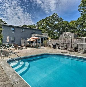 Spacious East Falmouth House With Pool & Game Room! photos Exterior