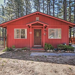 South Lake Tahoe Cabin With Fireplace, Dog Run And Central Air Conditioning! photos Exterior