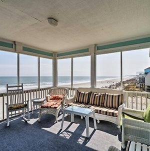 Oceanfront Oasis With Sundeck 12 Mi To Myrtle Beach photos Exterior