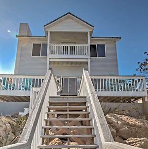 Tranquil Oceanfront New Smyrna Beach Home With Deck! photos Exterior