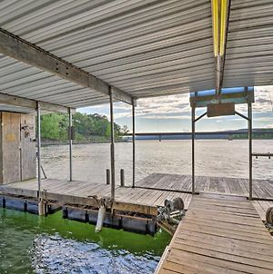Lakefront Greers Ferry Cabin With Covered Boat Slip! photos Exterior