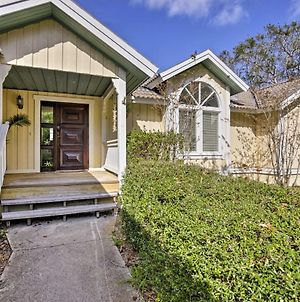 St Augustine House With Deck Close To Vilano Beach! photos Exterior