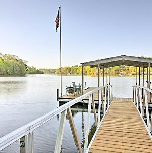 Waterfront Lake Hartwell Cabin With Dock-Near Clemson photos Exterior