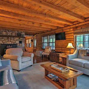 Private Massanutten Resort Log Home With Views! photos Exterior