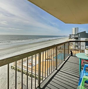 Spacious Murrells Inlet Condo With Oceanfront Balcony photos Exterior