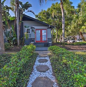 St Pete Retreat With Garden And Patio - Walk To Bay! photos Exterior