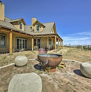 Epic Mountain Estate With Views - South Of Santa Fe! photos Exterior