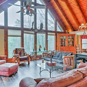 Rustic Blue Ridge Lodge & Cabin On 19 Acres With Pond photos Exterior