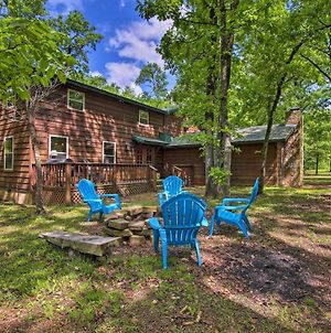 Cozy Broken Bow Cabin With Hot Tub - 5 Mins To Lake! photos Exterior