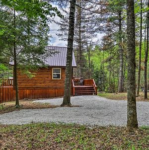 Rustic Red River Gorge Area Solar Cabin With Fire Pit photos Exterior