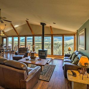 'Elk Mountain' Red Lodge Hillside House With Hot Tub! photos Exterior