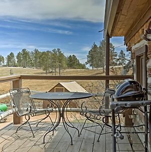 Remodeled Hill City '1910 Log Cabin' With Grill, Deck photos Exterior