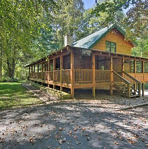 Lodge On 80 Acres W/Hot Tub, 45 Min. To Asheville! photos Exterior