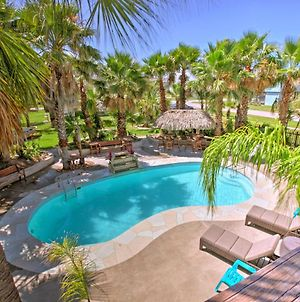 'Under The Palms'- Galveston Home With Private Pool! photos Exterior