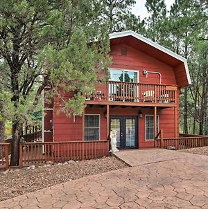 Ruidoso Downs Cabin With Deck Less Than 3 Miles To Race Track photos Exterior