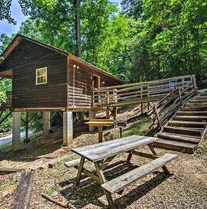Gone Hiking Bryson City Cabin With Hot Tub And Grill photos Exterior