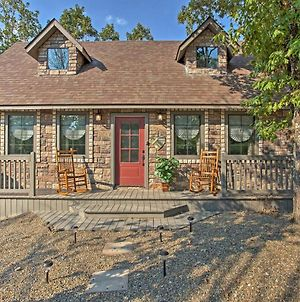 New! 'Greystone Cottage' W/Hot Tub In Broken Bow! photos Exterior