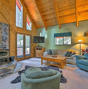 Cabin With Wraparound Deck In Big Trees Village! photos Exterior